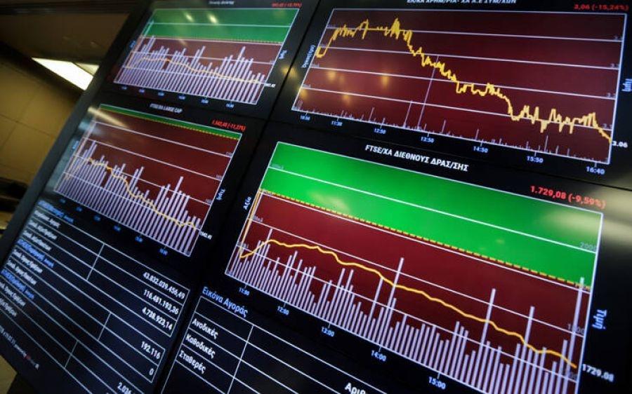 Λίγο μετά το άνοιγμα του ΧΑ – Ψύχραιμο στις διεθνείς πιέσεις με το βλέμμα σε ομόλογα και ΑΕΠ