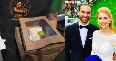 Θεσσαλονίκη: Νιόπαντρο ζευγάρι μοίρασε γαμήλια γεύματα σε άστεγους