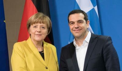 Στην Αθήνα η Merkel για να στηρίξει τη Συμφωνία των Πρεσπών και...πολιτικά τον Τσίπρα που παραπαίει