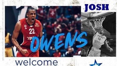 Ιωνικός: Ανακοίνωσε την απόκτηση του πρώην παίκτη της ΑΕΚ, Τζος Όουενς