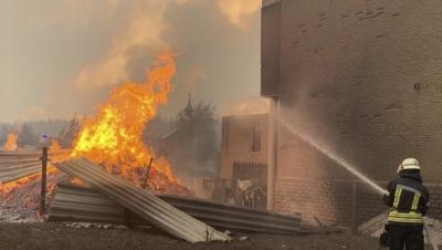 Ουκρανία: Ένας νεκρός κι ένας τραυματίας από έκρηξη φιάλης οξυγόνου σε νοσοκομείο