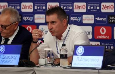 Ζαγοράκης για την ψήφιση της Ολιστικής Μελέτης: «Έγινε ένα μεγάλο βήμα για το ελληνικό ποδόσφαιρο»