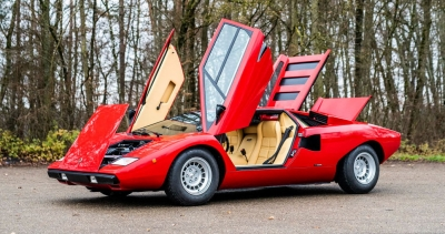 Αυτή η Lamborghini LP400 Countach Periscopio ανήκε στον Rod Stewart