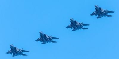 Σε πλήρη εξέλιξη η συνεκπαίδευση μαχητικών αεροσκαφών Ελλάδας - USAF στο πλαίσιο της άσκησης «Οργή του Ποσειδώνα»