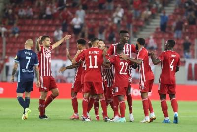 Ολυμπιακός – Σλόβαν Μπρατισλάβας 3-0: Αυτογκόλ ο Μποζίνκοφ! (video)