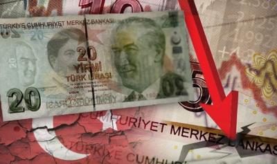 Σε νέα ιστορικά χαμηλά η τουρκική λίρα, μετά την απέλαση των δυτικών πρεσβευτών