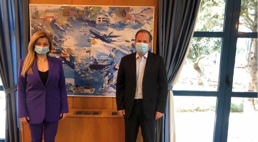 Συνάντηση σταθμός Αυγερινοπούλου - Καραμανλή για την Ολυμπία Οδό