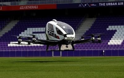 Το πρώτο drone - taxi απογειώθηκε στη Βιέννη και υπόσχεται επανάσταση στις μεταφορές εντός πόλεων
