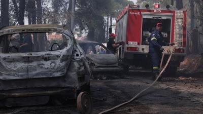 Φωτιά στην Σταμάτα: Δεν προέκυψε εμπλοκή των τεσσάρων προσαχθέντων