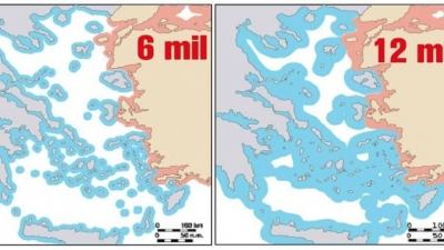 Θεωρίες παιγνίων μηδενικού αθροίσματος, οι απειλές της Τουρκίας για πόλεμο και τα δήθεν ελληνικά σχέδια για 12 μίλια στο Αιγαίο