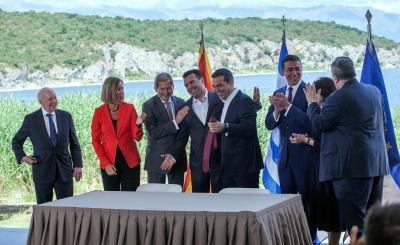 NYT: Ιστορική συμφωνία Αθήνας και Σκοπίων για το Μακεδονικό - Ανοίγει ο δρόμος για την ένταξη της FYROM στο ΝΑΤΟ