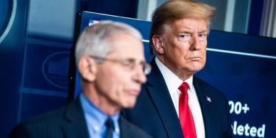 Ευθείες βολές Trump κατά δρ Fauci - Σκέφτεται την απόλυση του επιδημιολόγου μετά τις αμερικανικές εκλογές (3/11)