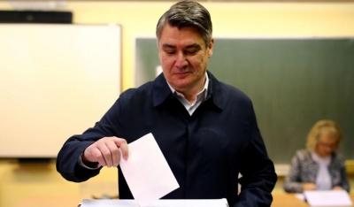 Προεδρικές εκλογές στην Κροατία: Μπροστά ο Σοσιαλδημοκράτης Milanovic με 30% - Στο 27% η κεντροδεξιά Kitarovic