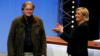 Le Pen: Ο Bannon δεν έχει καμιά σχέση με την εκστρατεία μας