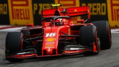 F1: Ασταμάτητος ο Leclerc που κατέκτησε την pole position και στο ρωσικό Grand Prix