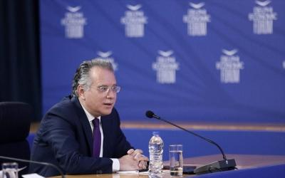 Κουμουτσάκος - Delphi Forum: Η τουρκική πολιτική είναι παράγοντας αστάθειας, έντασης και συγκρούσεων