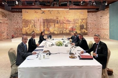 Με χαμηλές προσδοκίες στις διερευνητικές η Ελλάδα - Ολοκληρώθηκε η συνάντηση στο Ντολμά Μπαχτσέ