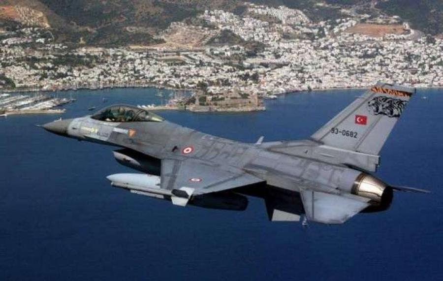 Τριάντα παραβιάσεις στο Αιγαίο από τουρκικά μαχητικά