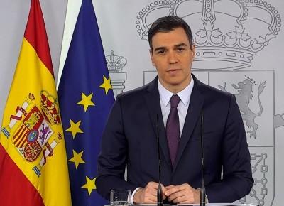 Sanchez (πρωθ. Ισπανίας): Όχι σε γενικό lockdown αλλά πρέπει να περιορίσουμε τις μετακινήσεις