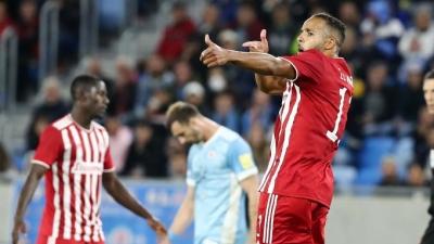 Σλόβαν Μπρατισλάβας- Ολυμπιακός 0-1: Σκοράρει με κεφαλιά ο Ελ Αραμπί! (video)