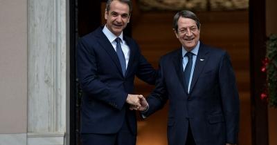 Επικοινωνία Μητσοτάκη – Αναστασιάδη ενόψει της άτυπης διάσκεψης του ΟΗΕ για το Κυπριακό
