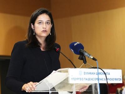 Στο περίπτερο Akademia της 85ης ΔΕΘ η  Κεραμέως: Η Ελλάδα αλλάζει, η παιδεία αλλάζει στην πράξη