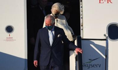 Η Καμίλα φόρεσε κόσμημα που άνηκε στην Νταϊάνα κατά την επίσκεψη της στην Ελλάδα