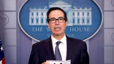 Mnuchin (ΥΠΟΙΚ ΗΠΑ): Κοντά σε συμφωνία Λευκός Οίκος – Κογκρέσο για τη χρηματοδότηση της κυβέρνησης