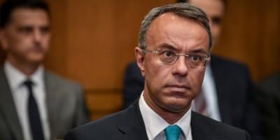 Σταϊκούρας: Για το 2022 οι υποχρεώσεις επαγγελματιών που έχουν πληγεί από την κρίση