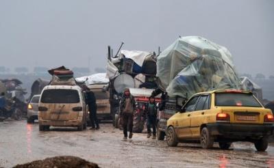 OHE: Περισσότεροι από 800.000 Σύροι εγκαταλείπουν τις εστίες τους στην Ιντλίμπ