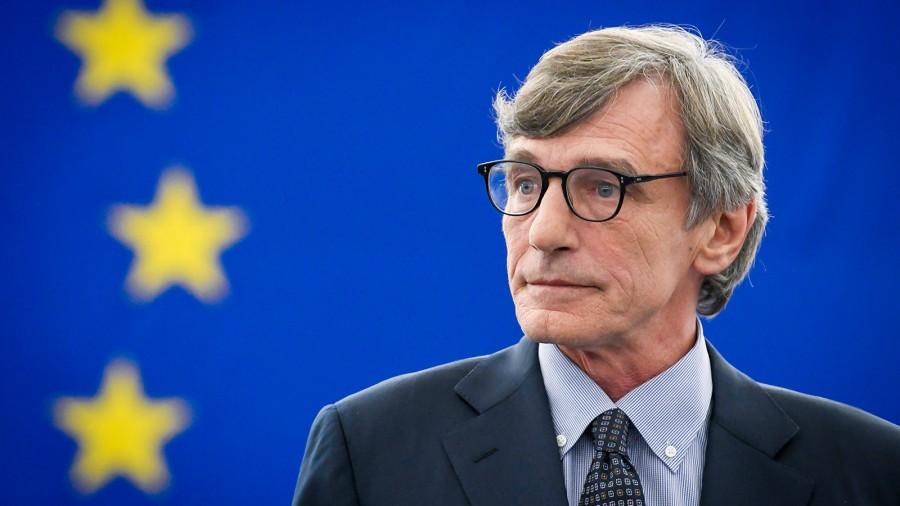 Sassoli (ΕΚ): Ευρωπαϊκά τα ιταλικά, ελληνικά, ισπανικά και μαλτέζικα σύνορα