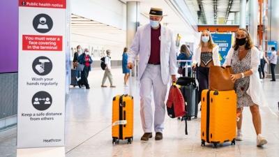"""""""Στα κάτω"""" η εμπιστοσύνη των ταξιδιωτών στο Ηνωμένο Βασίλειο"""
