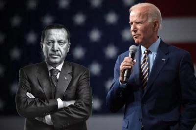 Erdogan προς Biden: Οι ΗΠΑ δεν έχουν λόγο στην αμυντική μας βιομηχανία