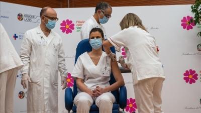 Ιταλία: Χορηγήθηκαν έως τώρα 20 εκατ. δόσεις εμβολίων κατά του κορωνοϊού