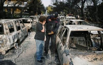 Με ταχείς ρυθμούς η έρευνα για τις φωτιές - Στους 92 οι νεκροί - Παρέμβαση Κοντονή καταγγέλλει η Κωνσταντοπούλου