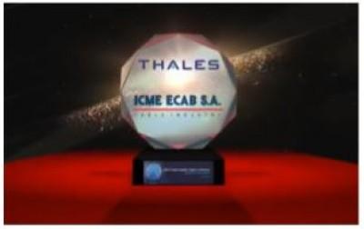 Η Hellenic Cables βραβεύεται από τον Όμιλο Thales