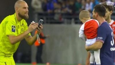 Λιονέλ Μέσι: Φωτογραφήθηκε με τον γιο του τερματοφύλακα της Ρεμς! (video)