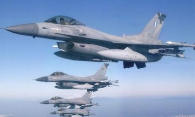 Οπλικά συστήματα για τα F 16 παρουσίασε η Raytheon στην Πολεμική Αεροπορία