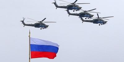 Η Ρωσία κάνει ασκήσεις με επιθετικά ελικόπτερα - Δεσμεύεται να διαφυλάξει τα σύνορα του Τατζικιστάν με το Αφγανιστάν