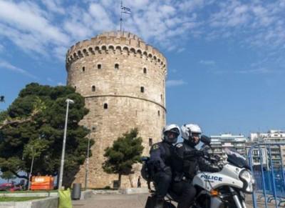 Θεσσαλονίκη: Μία σύλληψη για τα επεισόδια στον Λευκό Πύργο – Βεβαιώθηκαν 13 παραβάσεις