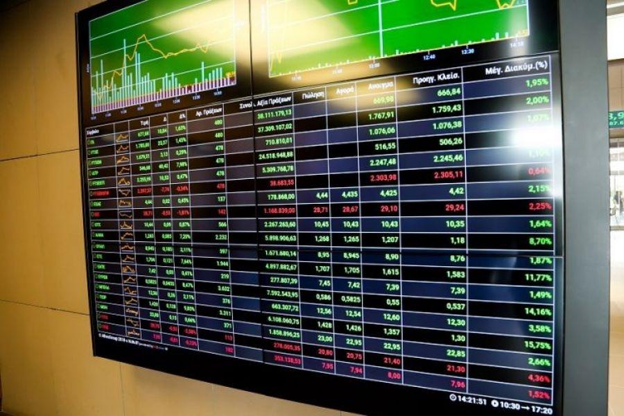 Λίγο μετά το κλείσιμο του ΧΑ – Με ΔΕΗ και Eurobank πάνω από τις 880 μονάδες