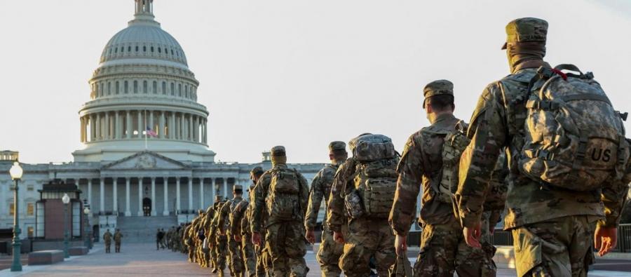 Το Πεντάγωνο στέλνει 25.000 στρατιώτες στην Ουάσιγκτον για την ορκωμοσία Biden
