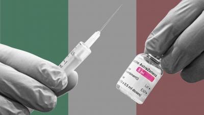 Μεγάλη μείωση των νέων εμβολιασμών σημειώθηκε την τελευταία εβδομάδα στην Ιταλία