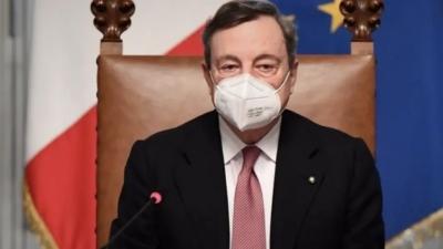 Draghi: Η πανδημία δεν έχει τελειώσει, δεν την αφήσαμε ακόμη πίσω μας - Θέλει προσοχή
