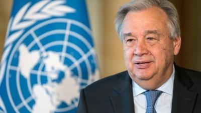 Guterres (ΟΗΕ): Οι χώρες να δεσμευθούν να μοιραστούν τις πλεονάζουσες δόσεις των εμβολίων