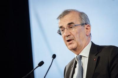 Villeroy de Galhau (ΕΚΤ): Άρση των πολιτικών νομισματικής στήριξης σε συντονισμό με τη Fed – Από Σεπτέμβριο οι αποφάσεις