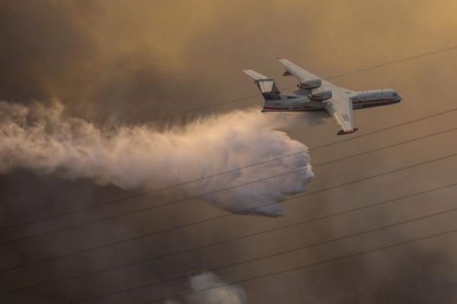 Πυρκαγιές – Δεύτερο Beriev ζητά από τη Ρωσία η Αθήνα – Συνδρομή και από χώρες της Ευρώπης