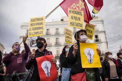 Ισπανία: Εκτίναξη 44% της τιμής του ηλεκτρικού ρεύματος – Εκτός ελέγχου η ενεργειακή κρίση