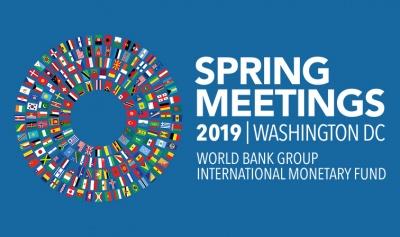Σύνοδος ΔΝΤ – Παγκόσμιας Τράπεζας: Έτοιμοι να ενεργήσουμε άμεσα για την ενίσχυση της ανάπτυξης – Οι κίνδυνοι παραμένουν