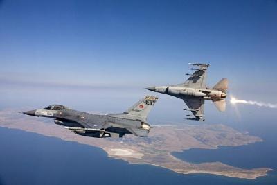 Νέο μπαράζ τουρκικών παραβιάσεων: Τουρκικά F-16 πέταξαν πάνω από Ρω, Φαρμακονήσι, Λειψούς, Αρκιούς